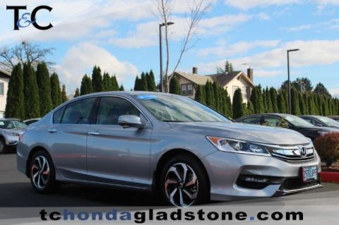 Certified Used Honda Accord Sedan EX-L V6