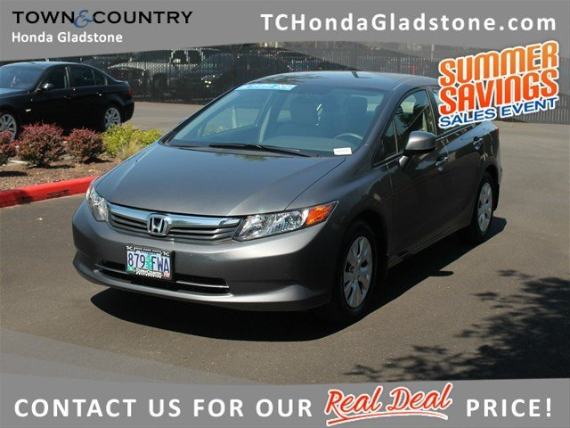 Certified Used Honda Civic Sdn LX