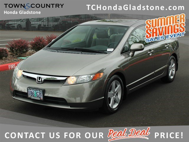 Used Honda Civic Sdn EX